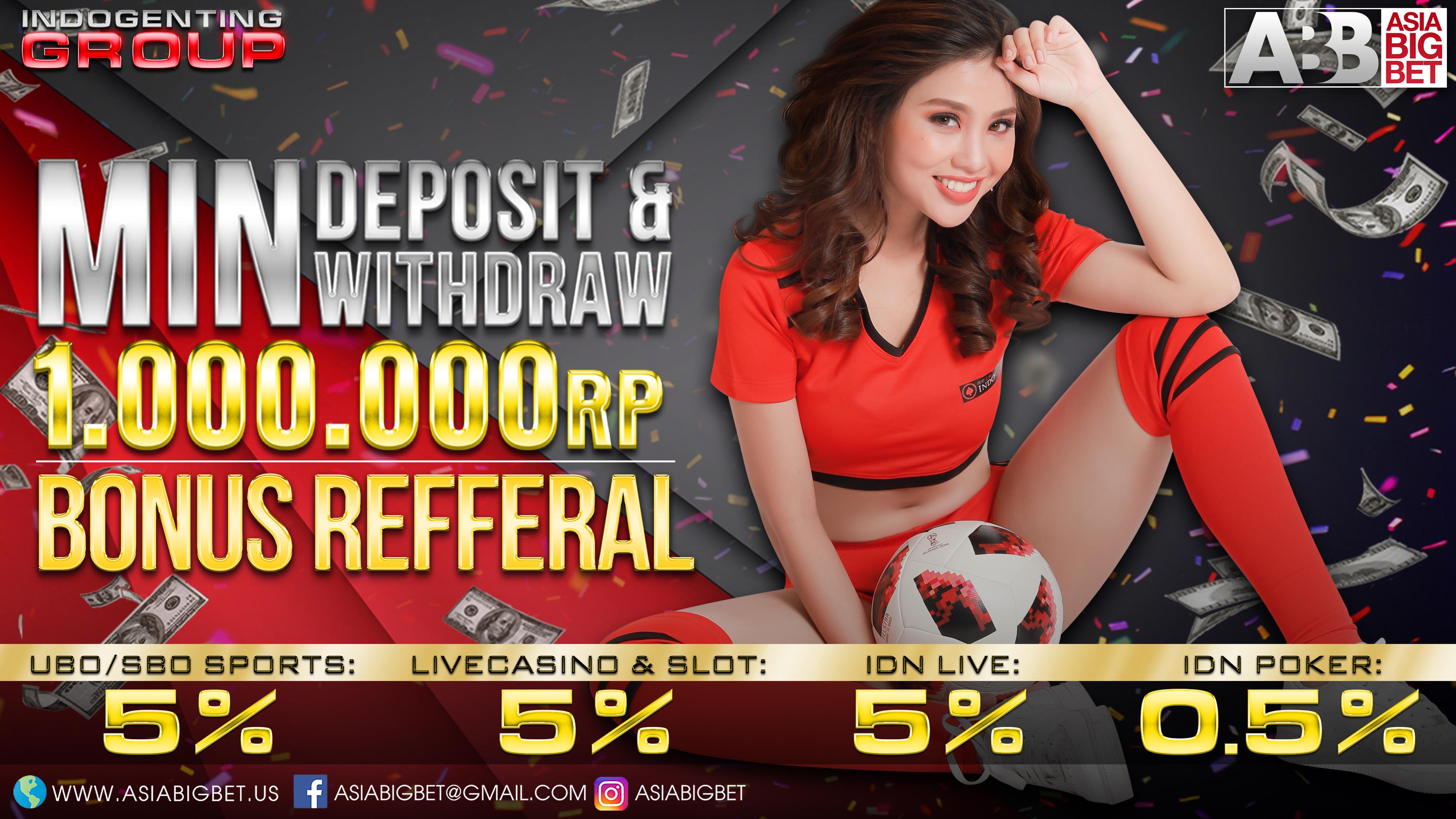 Asiabigbet, SBOBET, Keuntungan, Domino QQ, Poker Online