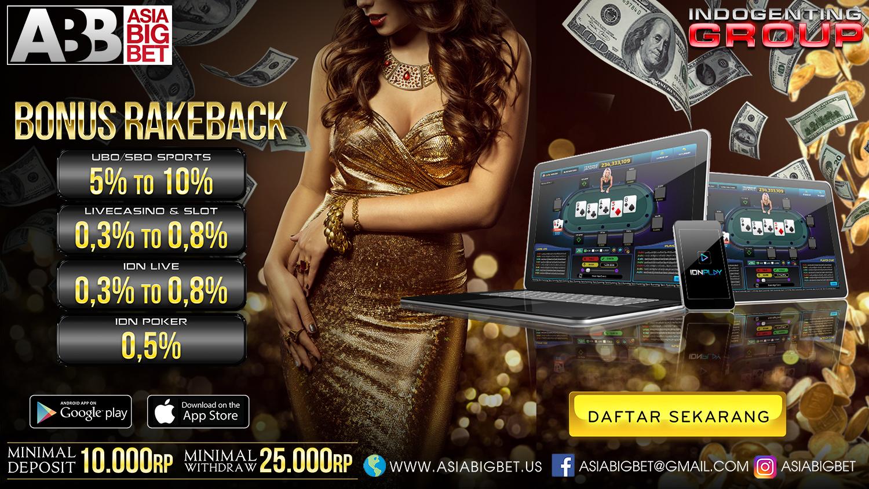 Domino Online, Asiabigbet, Poker online, SBOBET, Mix Parlay